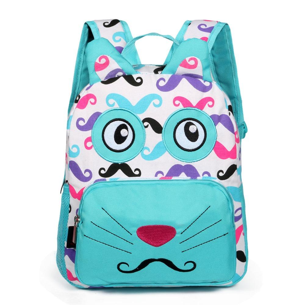 School Bags for Teenagers Girl Cute Casual Nylon School Backpack Schoolbag Children Bookbag Women Backbag Backpack Blue Knapsack(China (Mainland))