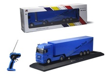 RC truck 1:32  with LED light  2.4G  rc  container truck engineering cartage vehicle toy  container separated for kids gift(China (Mainland))