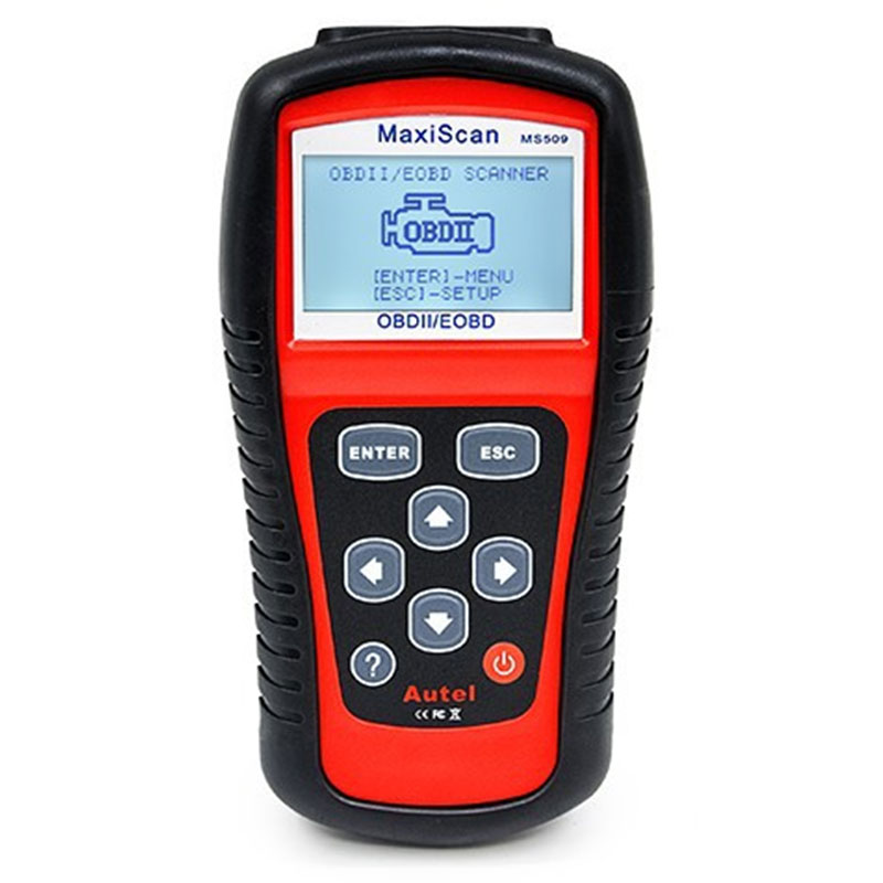 Car Style Autel MaxiScan MS 509 OBDII EOBD Scanner Tool Auto MS509 OBD2 EOBD Car Diagnostic Tool OBD2 Code Reader Scanner Tools(China (Mainland))