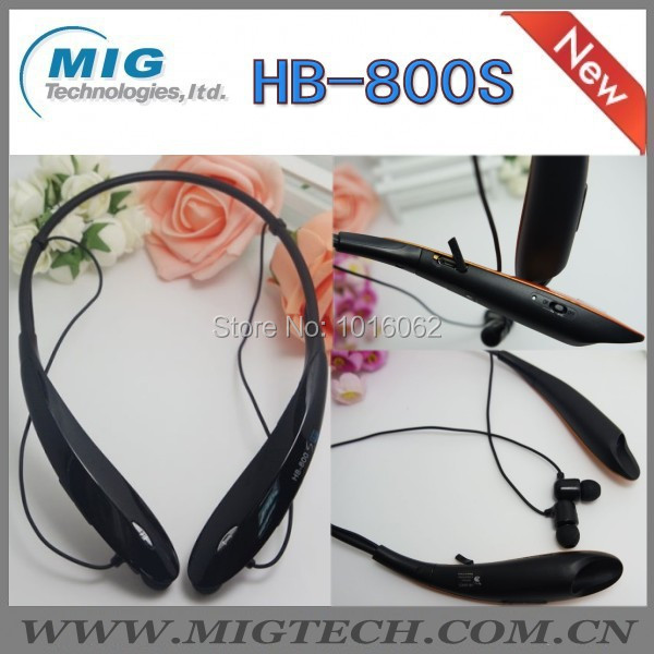 1pc/lot HandsFree bluetooth headset stereo HB-800S, CSR4.0 wireless Earphone 5 color stock - MIG Technology store