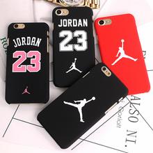 Fashion Luxury Ultra Slim Matte Case For iPhone 7 6 6S Scrub Cartoon PC Hard Back Cover Jordan Case For iphone 7 Plus 6 6s Plus(China (Mainland))