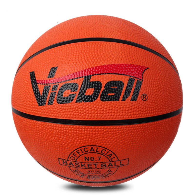 Brand high quality Standard Basketball Ball freestyle indoor and outdoor rubber ball for training competition(China (Mainland))