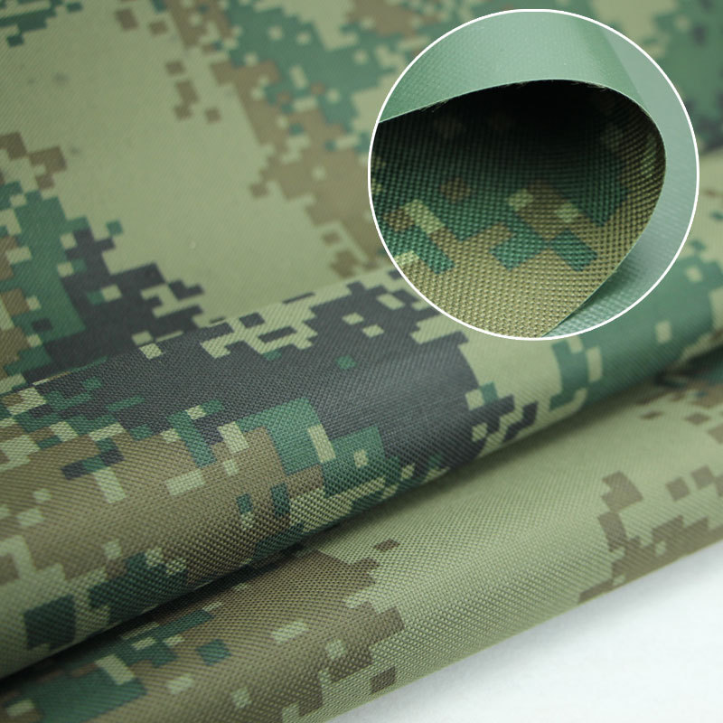 Outdoor waterproof multicam digital military camouflage fabric oxford thicken bottom cover luggage tent awning material(China (Mainland))