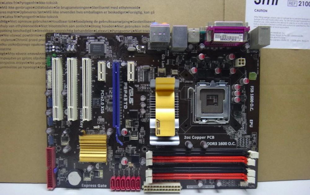 מקורי לוח אם P5P43TD סוקט LGA 775 DDR3 16GB בלוחות ATX USB2.0 SATAII P43 שולחן העבודה לוח האם משלוח חינם