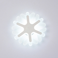 Snow LED Wall Lamp Porch Corridor Studyroom Light LED Bulbs Concise Style Lights Ultrathin Acrylic Decoration