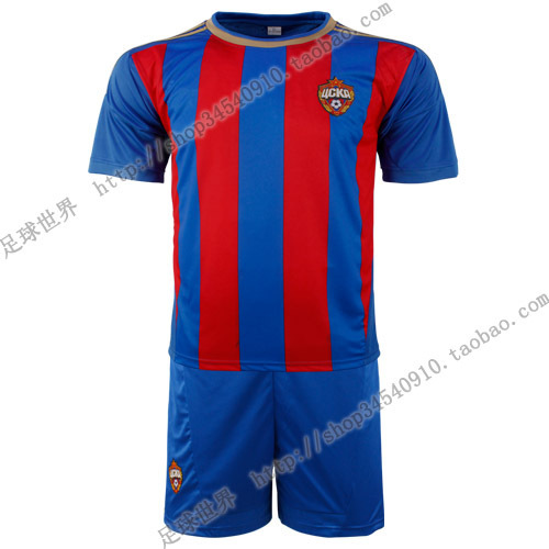 2012 - 13 Russia CSKA Moscow home court soccer jersey sportswear printing