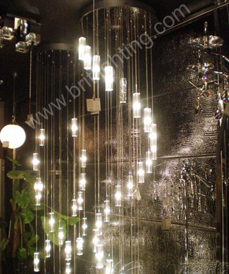 Lampadario led lampade salotto moderno lampadario di cristallo ...