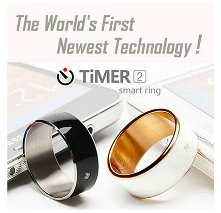 TiMER2 Smart Ring NFC Wearable Device Intelligent Magic Ring Waterproof Perfect Match to Android Smart Watch Wristband<br><br>Aliexpress