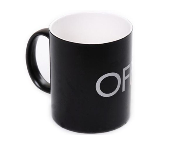 Magical ON/OFF Switch Color Changing Mug,Black(China (Mainland))