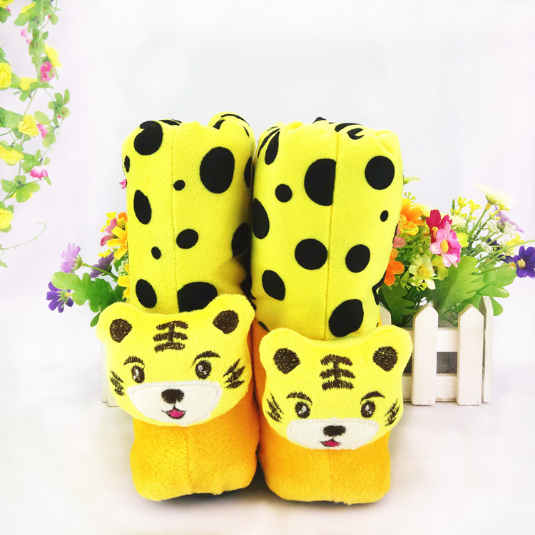 Здесь продается  Adorable Comfortable Noble Wonderful Winter Totem Printing Cotton Cartoon Infant Shoes Soft Thicker Warm Bottom Snow Boots  Детские товары