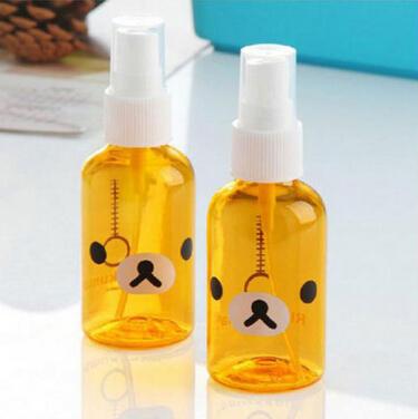 Kawaii Rilakkuma Perfume Sprayer Perfume Atomizer,Empty Perfume Bottle,Novelty Product Retail KCS(China (Mainland))
