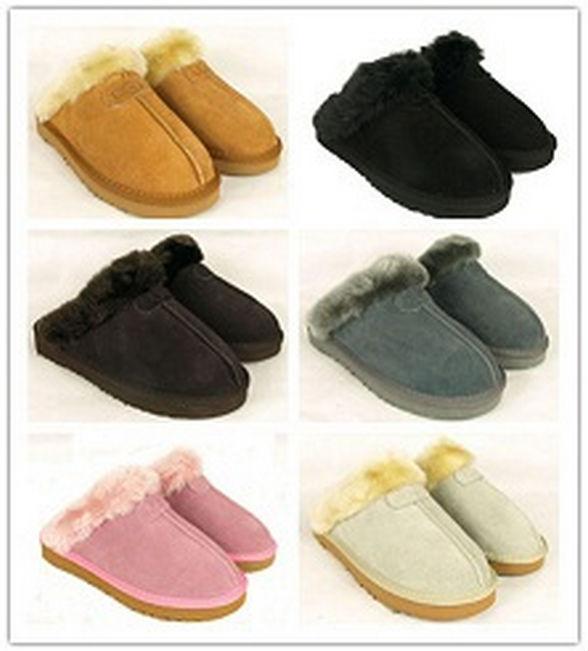 Livraison gratuite accueil hiver chaud pantoufles Ug femmes hommes Coquette pantoufles Hot vente australie Size5-13(China (Mainland))