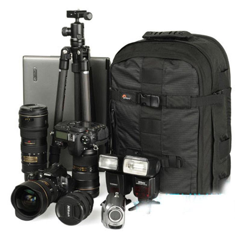 "Lowepro Pro runner 350 AW Digital SLR Photo Camera Tripod backpack professional DSLR 15.4"" laptop bag Rain Cover for Canon Nikon(China (Mainland))"