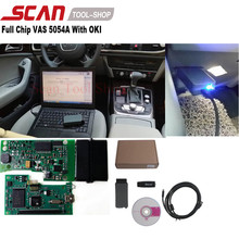 Hot Sale VAS 5054 VAS 5054A VAS5054A with OKI+ODIS+Bluetooth V2.2.6 Full Chip Support UDS for VW/AUDI/SKODA/SEAT(China (Mainland))