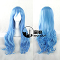 New Fashion Synthetic Hair Curly Long Wigs Cheap Brown  Curly Wig Style ladies daily Long full hair