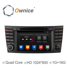Ownice Android4.4 Quad Core Car DVD Player FOR Benz E Class W211 W209 W219 support 3G WIFI Radio Stereo GPS BT DAB+ TPMS 16G ROM - Entertainment Store store