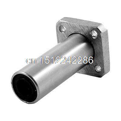 LM8UU 8mm x 15mm x 45mm Flange Type CNC Linear Motion Rubber Shield Bearing(China (Mainland))
