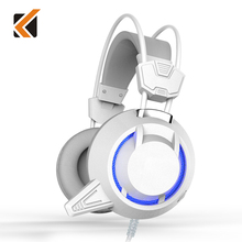 KINDEN Bass Stereo Gaming Headset Headphone Earphone Auriculares Casque Audio With MIC LED Light For Computer PS3 PS4 PC Gamer