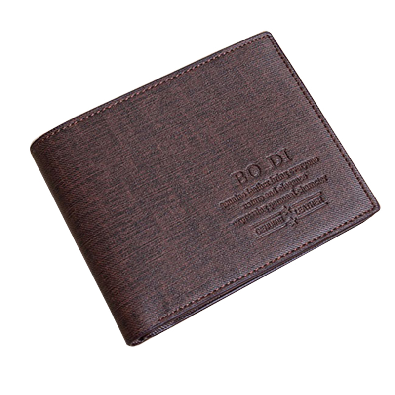 Male wallets leather purse for man bifold brown blue wallets men walet carteira masculina carteras hombre card-holders(China (Mainland))
