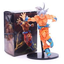 NOVAS Figuras de Dragon Ball z Super Goku Son goku Super Ultra Instinto Dominado (Migatte Não Gokui) modelo de Figura de Ação DO PVC Brinquedos(China)