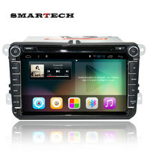 2 din car radio gps for vw passat b6 golf 5 polo jetta Android 4.4 Quad core 8 inch 1024*600 HD screen car stereo GPS navigation(China (Mainland))
