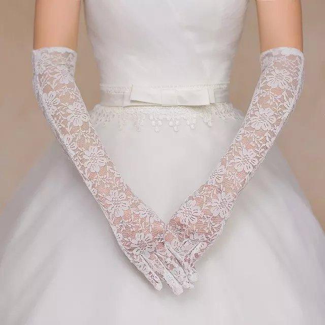 перчатки свадебные свадьба