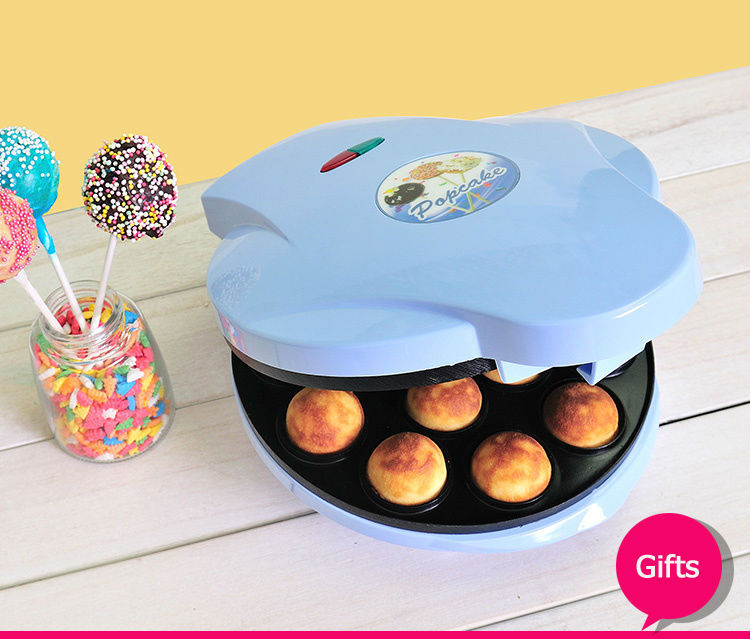 Home DIY Full Automatic Cake Pop Maker 12 Holes Two-side Heating Pop Cake Maker Machine(China (Mainland))