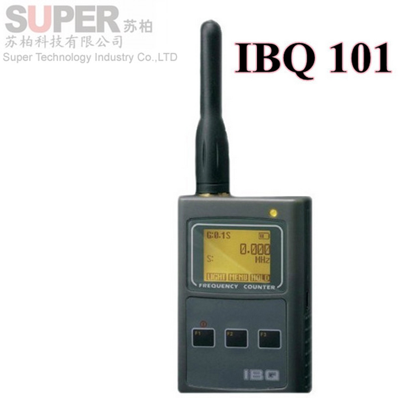 IBQ101 handheld frequency meter 50MHz-2.6GHz for Two Way Radio Frequency Counter signal finder signal detector frequency display<br><br>Aliexpress