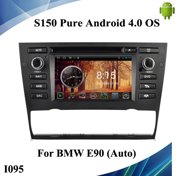 S150 Pure Android 4.0 OS Car DVD for E90 CPU Cortex A9 1GB Ram,Multi-Language, GPS Voice Guide, BT Phonebook, Radio,Touch Screen(China (Mainland))
