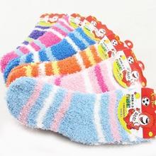5 pair /1 lot  autumn&winter warm kids socks 0-6 year children socks for boys /girls(China (Mainland))