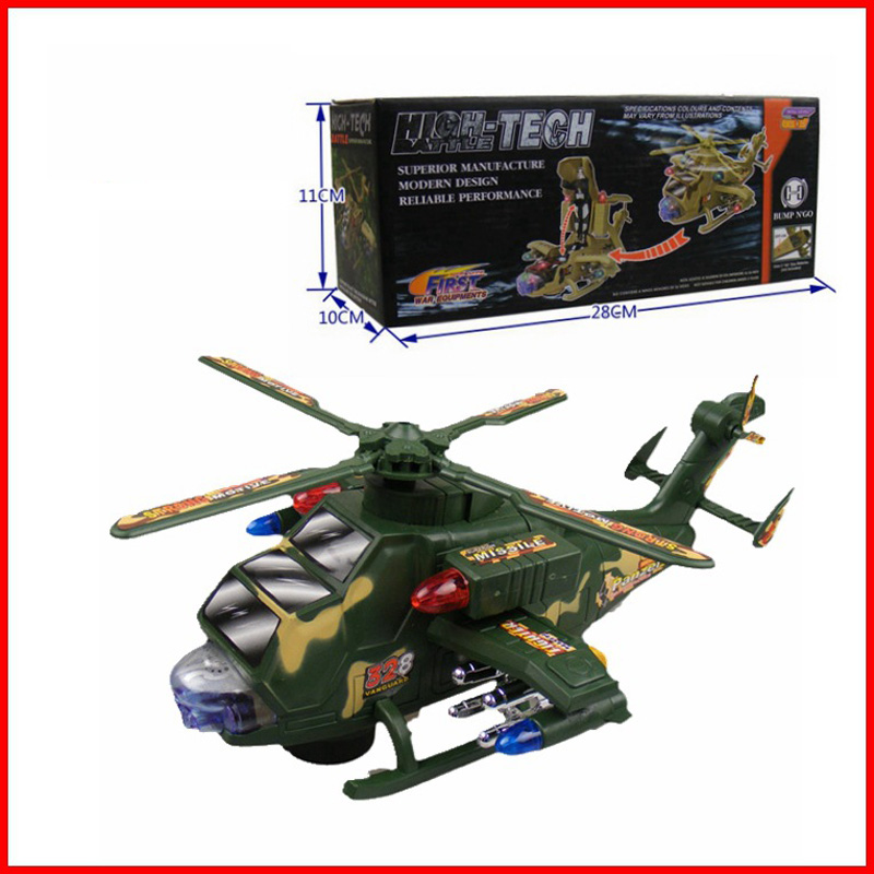 Musical Model Building Kits Diecast Learning &amp; Education Children Toys Plastic Electric Universal Helicopters Model Kids Toy <br><br>Aliexpress