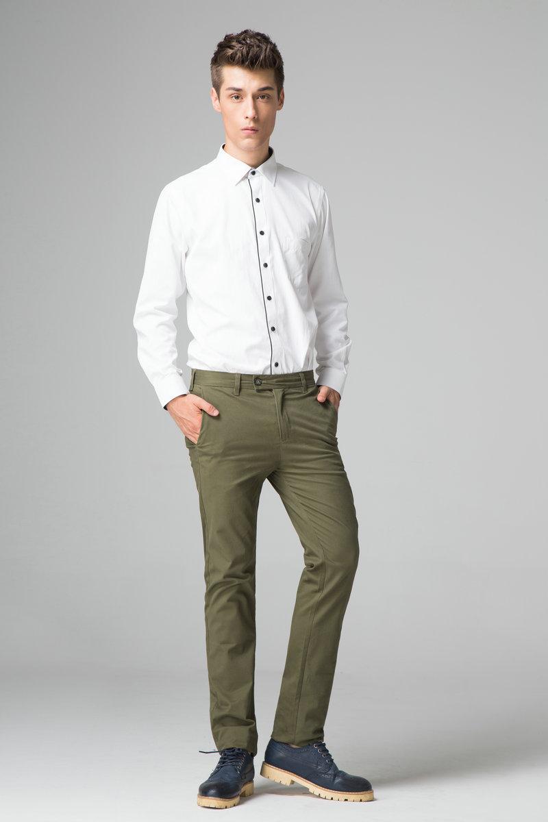 Slim Chino Pants Men