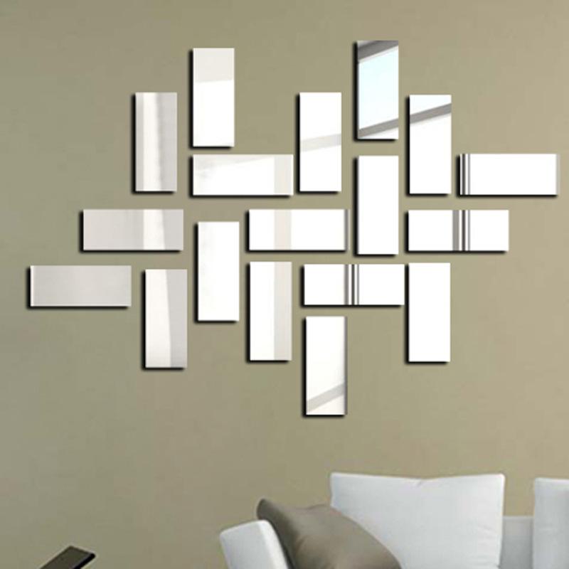 Espelhos de parede retangular vender por atacado for Miroir mural original