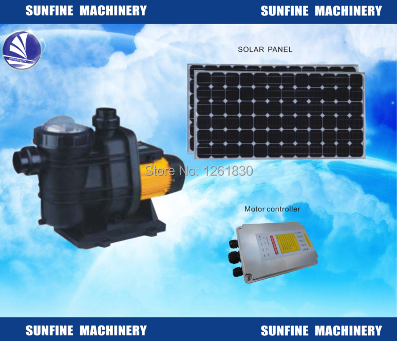 Dc Brushless Motor Solar Water Pump For Pool In Pumps From