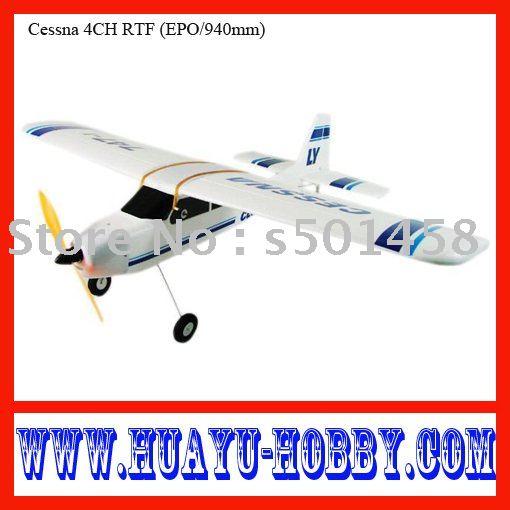 Cessna 4CH RTF (EPO/940mm)) beginner Airplane /Foam fiying model /rc toyAHY000526<br><br>Aliexpress