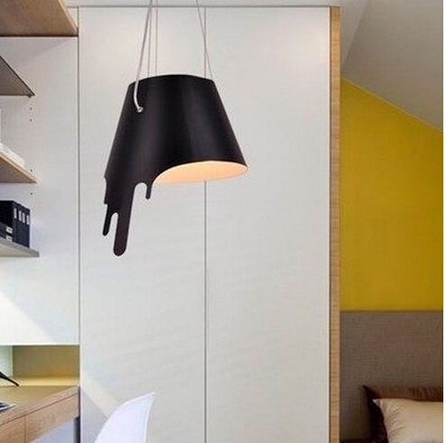 Melt the light of the modern creative personality of the hanging lamp house restaurant, the simple Nordic bar Pendant lights.(China (Mainland))
