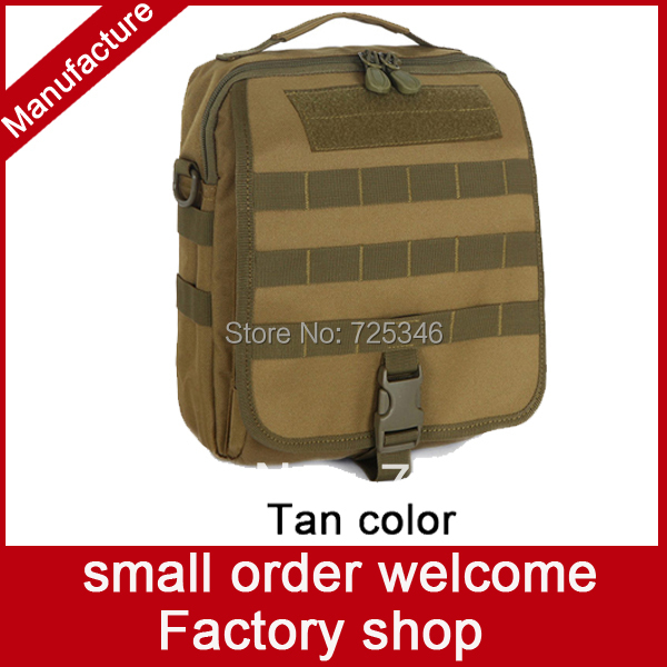 1Durable waterproof military sand shoulder bag tactical messenger casual molle bag 1000DCORDURA NYLON travel Outdoor Sports Bag(China (Mainland))