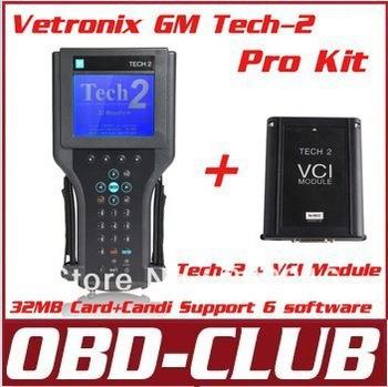 GM TECH2 support 6 software(GM,OPEL,SAAB ISUZU,SUZUKI HOLDEN) Vetronix gm tech 2 with candi interface Without black plastic box(China (Mainland))