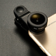 Buy Universal clip 3in1 lens fish eye lenses wide angle lens macro lens Mobile phone lentes iphone samsung xiaomi note 3 huawei for $17.99 in AliExpress store