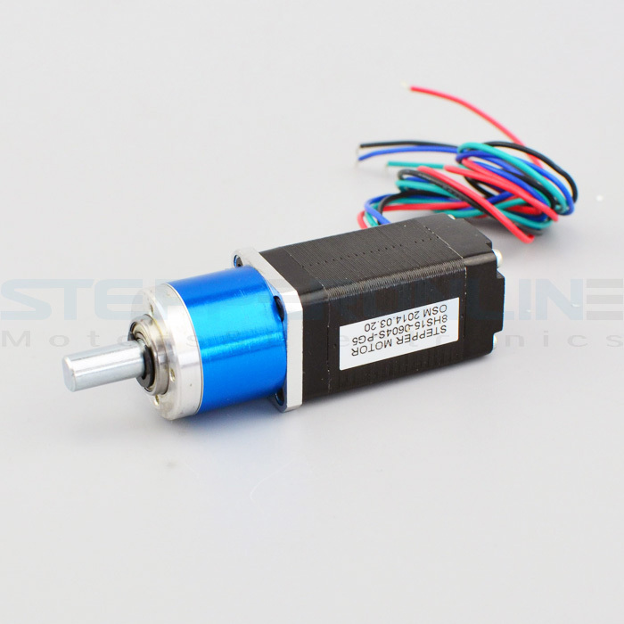 Nema 8 planetary geared stepper motor gear ratio 5 1 for Stepper motor gear box