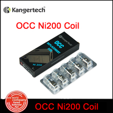 5pc/lot Authentic Kanger OCC Ni200 Coils 0.15 ohm upgraded Vertical  Replacement Coil Kangertech  sub ohm/Subtank  atomizer (MM)