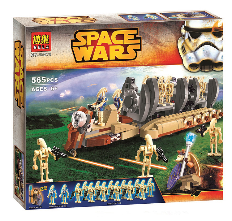 BELA 10374 Star Wars Clone Wars Spaceship Minifigures Building Blocks Sets toys compatible legoelieds Star Wars block figures<br><br>Aliexpress