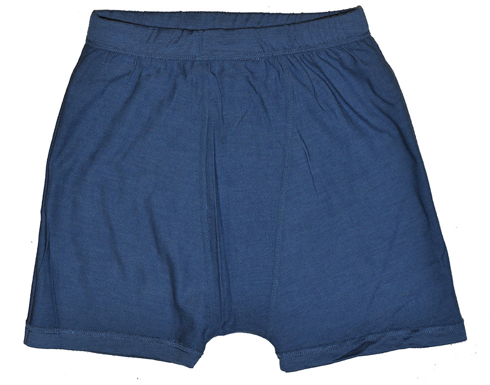 Men s 100 Micro Merino Wool Lightweight Underwear Athletics Male Blue Boxers Drying Outdoor Sports Woolmark