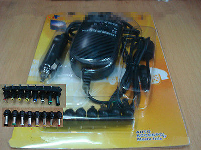Auto Universal Laptop Car Charger DC Adapter HP Toshiba Lenovo Sony Acer ASUS LF(China (Mainland))