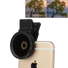 Buy Universal 37mm Cell Phone Cam Lens Professional iPhone 7 Plus 6 6s Plus Samsung ND Circular Polarizer Filter ND2-ND400 Lens for $13.17 in AliExpress store