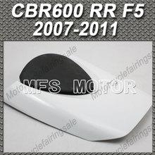 Rear Pillion White Seat Cowl Cover Honda CBR600RR F5 CBR 600 RR 2007 2011 08 09 10 Motorcycle Part - MFS MOTOR Store store