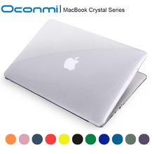 Transparent crystal Case For Apple macbook Air Pro with Retina 11 12 13 15 inch laptop bag For Macbook 11.6 13.3 15.4 case clear(China (Mainland))