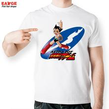 [EATGE]Astro Boy Shot T Shirt Design Inspired By Japanese Anime T-shirt Cool Fashion Casual Novelty Funny  Men Women Printed Tee