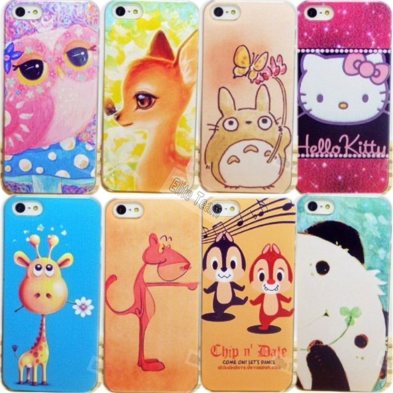 4/4S Top Fashion Cute Painting Hard Back Cover Apple iPhone 4 4S Case iPhone4 Phone Shell Cases 1PC New ! - Mobile Accessories/Case And Mp3 Store store