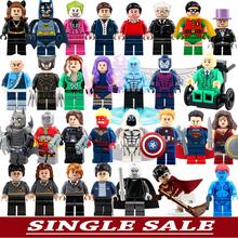 Minifigures For Individually Single Sale Marvel Super Heroes Avengers Batman Building Blocks Legoelieds Model Bricks Toys(China (Mainland))